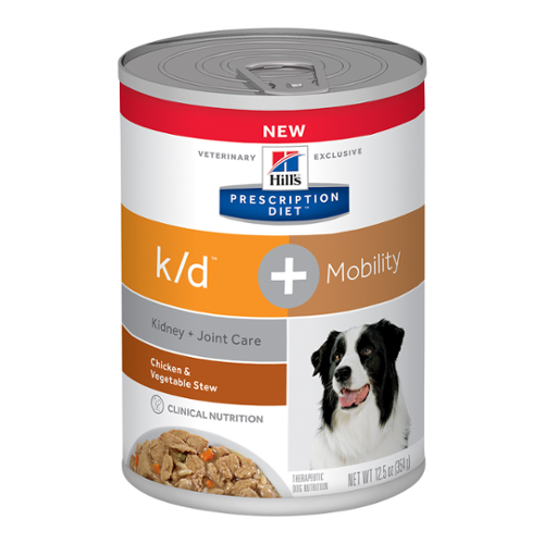 Hill's® Prescription Diet® Dog k/d™ + Mobility Canned Stew