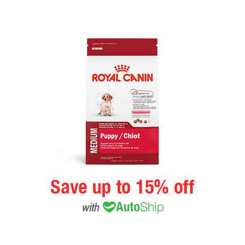 Royal Canin Size Health Nutrition MEDIUM Puppy Dry