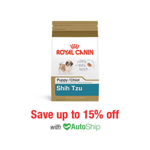 Royal Canin Breed Health Nutrition Shih Tzu Puppy Dry