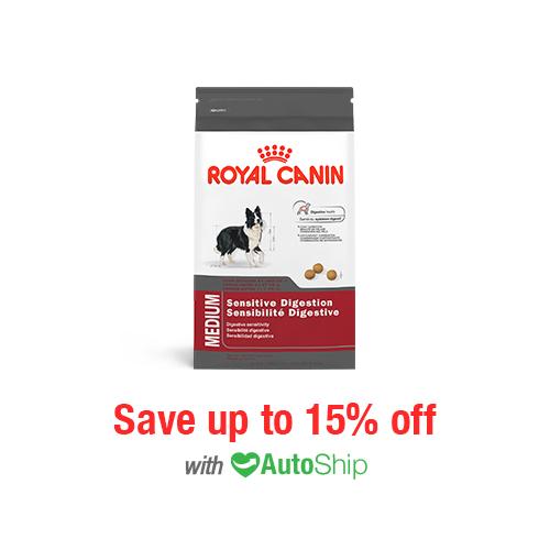 Royal Canin Size Health Nutrition MEDIUM Sensitive Digestion Dry