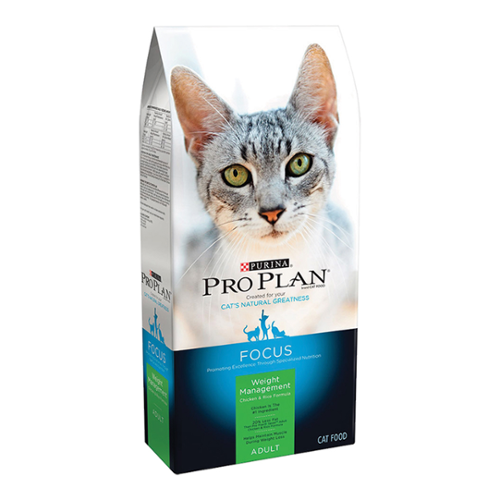 Purina® Pro Plan® Focus Adult Cat Weight Management Chicken & Rice Formula  Dry