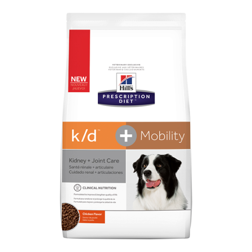 Hill's Prescription Diet® Dog k/d® + Mobility Dry