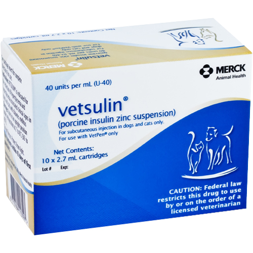 Vetsulin® Insulin Cartridge for use with VetPen®