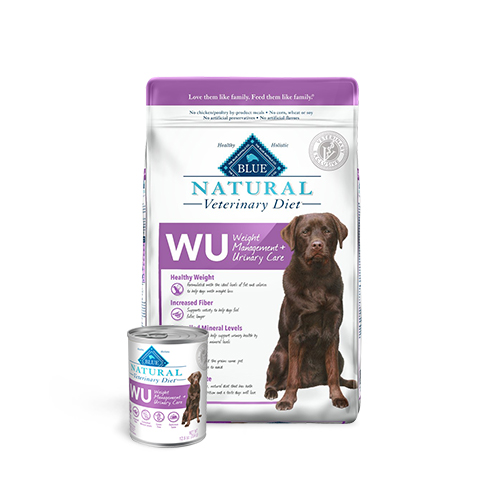 BLUE Naturals Veterinary Diet™ Dog WU Weight Management + Urinary Care