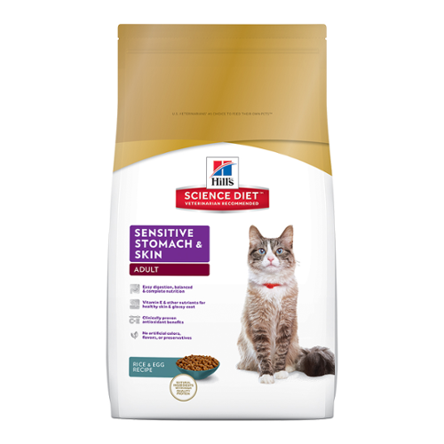 Hill's Science Diet® Cat Adult Sensitive Stomach & Skin Dry