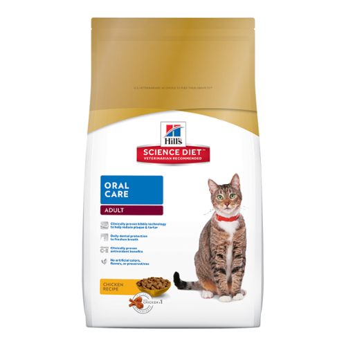 Hill's Science Diet® Cat Adult Oral Care Dry