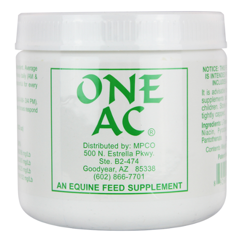 One AC® Powder for Horses