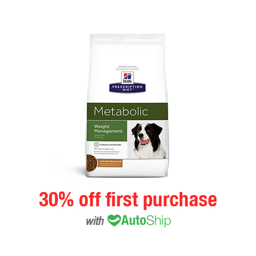 Hill's® Prescription Diet® Dog Metabolic Weight Management Lamb Meal & Rice Formula Dry