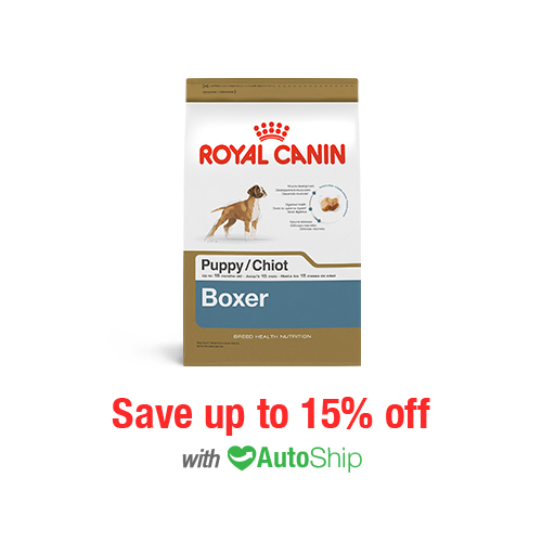 Royal Canin Breed Health Nutrition Boxer Puppy Dry