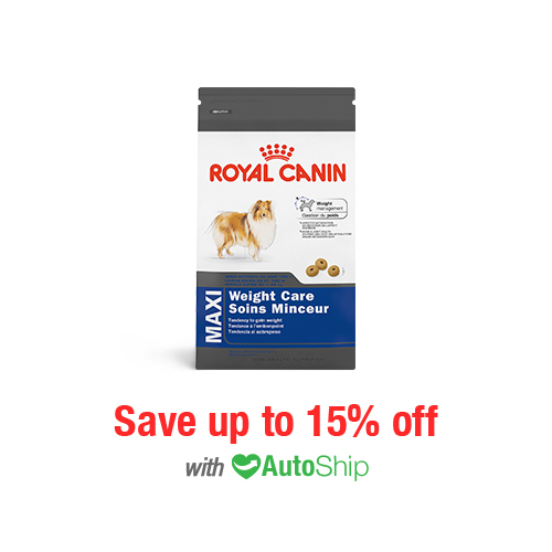 Royal Canin Size Health Nutrition MAXI Weight Care Dry