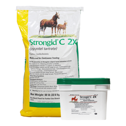Strongid® C 2X Pellets