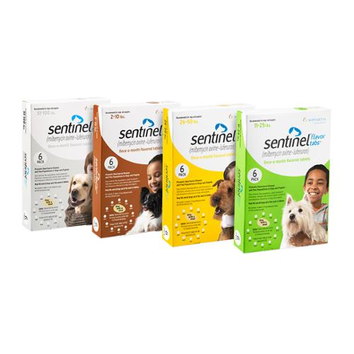 Sentinel® Flavor Tablets