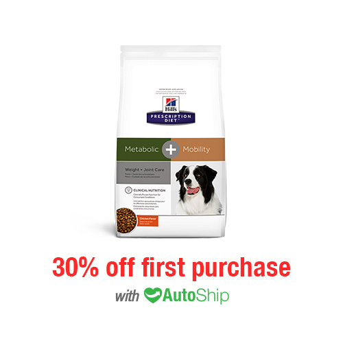 Hill's® Prescription Diet® Dog Metabolic + Mobility Dry