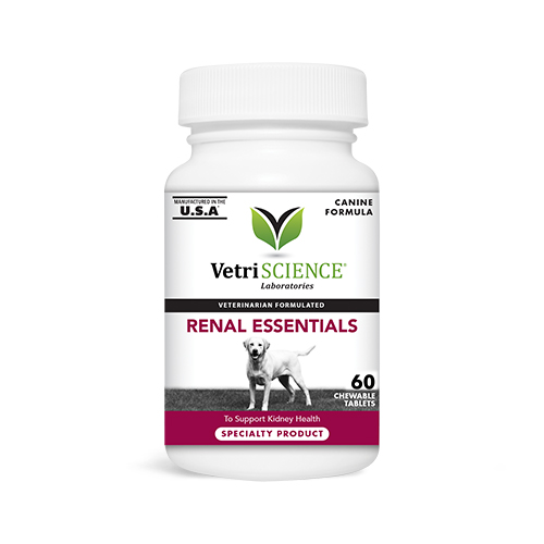 VetriScience® Renal Essentials Chewable Tablets for Dogs