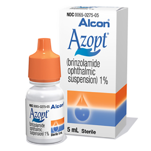 Azopt Ophthalmic Suspension
