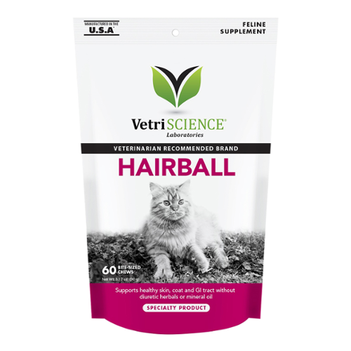 VetriScience®  Hairball Soft Chews for Cats