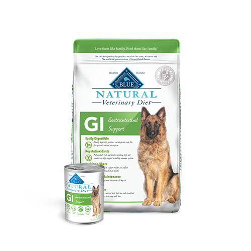 BLUE Naturals Veterinary Diet™ Dog GI Gastrointestinal Support