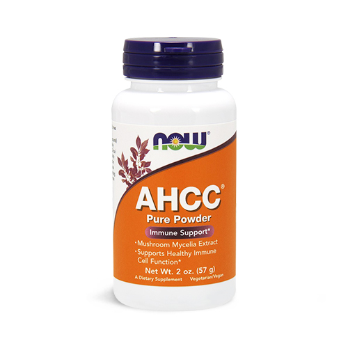 NOW® AHCC® 100% Pure Powder Immune Support