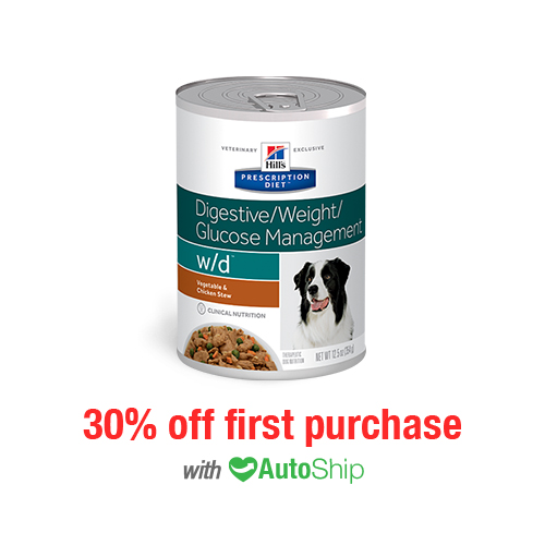 Hill's® Prescription Diet® Dog w/d® Canned Stew