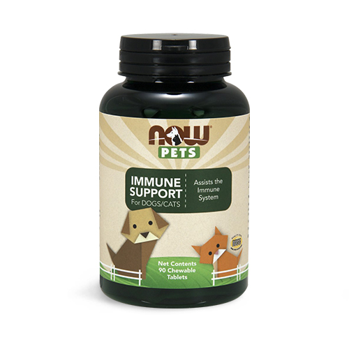 NOW® Pets Immune Support Chewable Tablets for Dogs/Cats