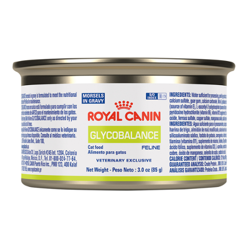 Royal Canin Glycobalance Morsels In Gravy Can for Cats (formerly Diabetic)