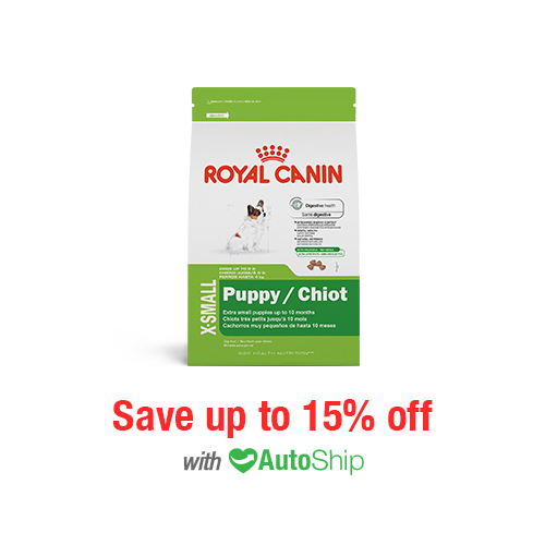 Royal Canin Size Health Nutrition X-SMALL Puppy Dry