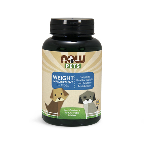 NOW® Pets Weight Management Chewable Tablets for Dogs