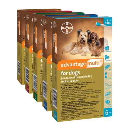 Advantage Multi® for Dogs