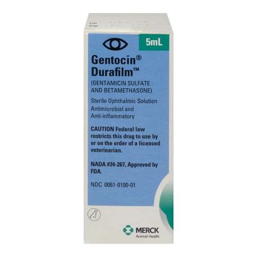 Gentocin® Durafilm® Ophthalmic Solution