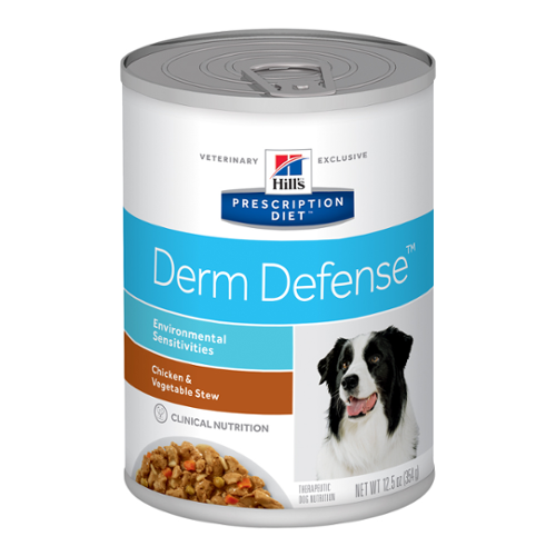 Hill's® Prescription Diet® Dog Derm Defense™ Canned