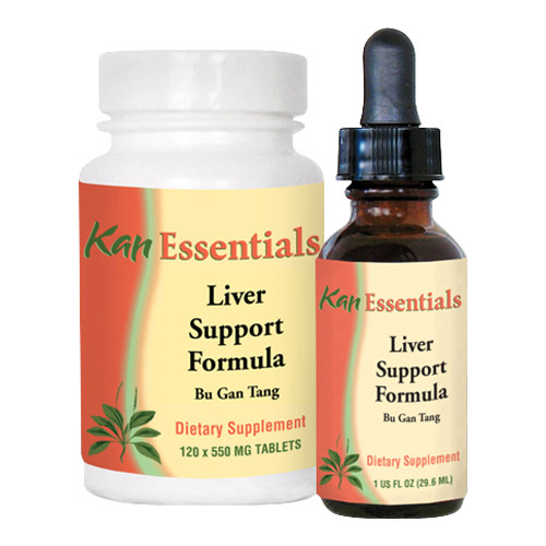 Liver Support Chinese Herbal