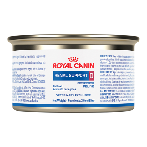 Royal Canin Renal Support D™ Morsels in Gravy Can for Cats
