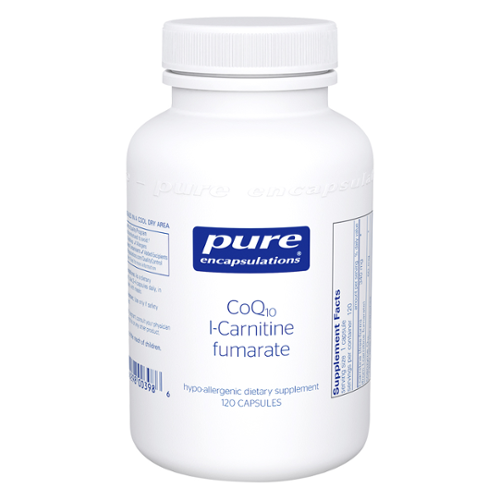 Pure Encapsulations® CoQ10 l-Carnitine fumarate Capsules