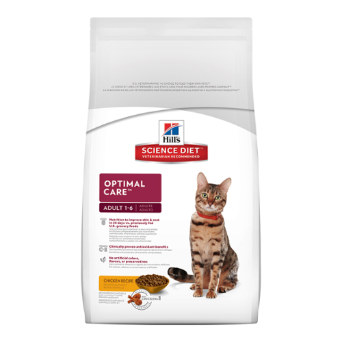 Hill's Science Diet® Cat Adult Optimal Care™ Dry
