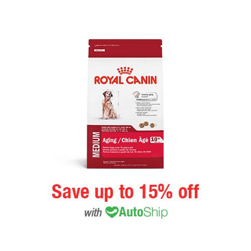 Royal Canin Size Health Nutrition MEDIUM Aging 10+ Dry