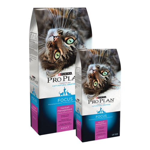Purina® Pro Plan® Focus Adult Cat Hairball Management Chicken & Rice Formula Dry