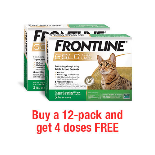 Frontline® Gold for Cats and Kittens