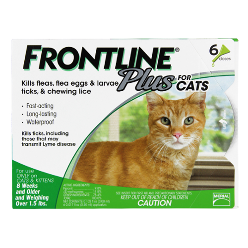 Frontline® Plus Cat Green 12pk