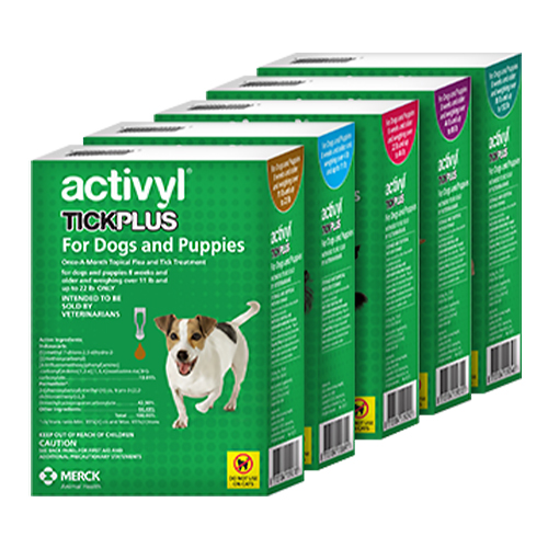 Activyl® Tick Plus For Dogs and Puppies