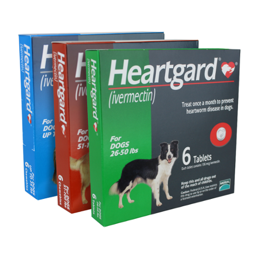 Unflavored Heartgard® Dog Tablets