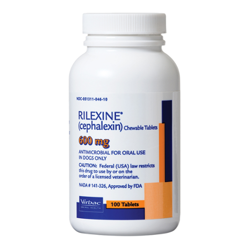 RILEXINE® (cephalexin) Chewable Tablets
