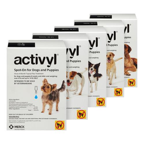 Activyl® Medium Dogs & Puppies 23-44 lbs 1.54mL 6pk