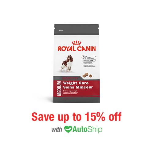 Royal Canin Size Health Nutrition MEDIUM Weight Care Dry