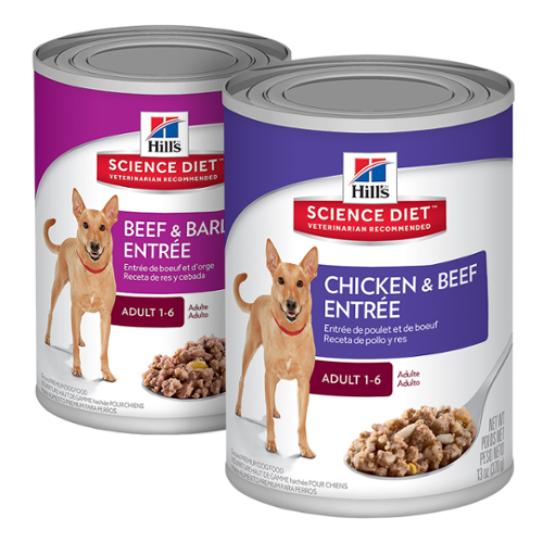 Hill's® Science Diet® Dog Adult Gourmet Turkey Entree 13oz 12pk