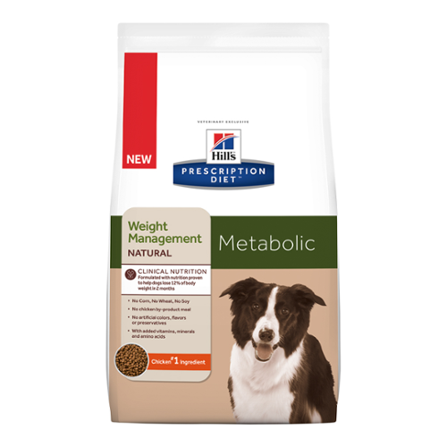Hill's® Prescription Diet® Dog Metabolic Weight Management Natural Dry