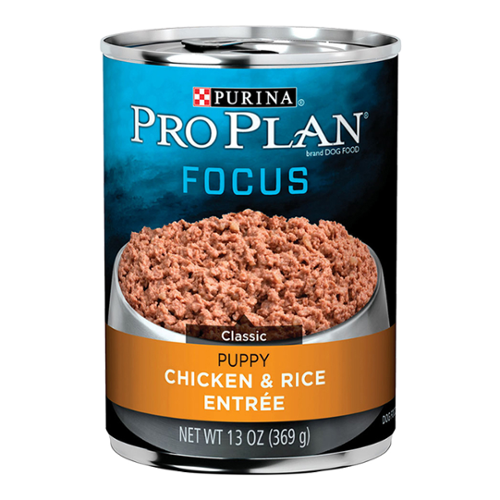 Purina® Pro Plan® Focus Puppy Classic Chicken and Rice Cans