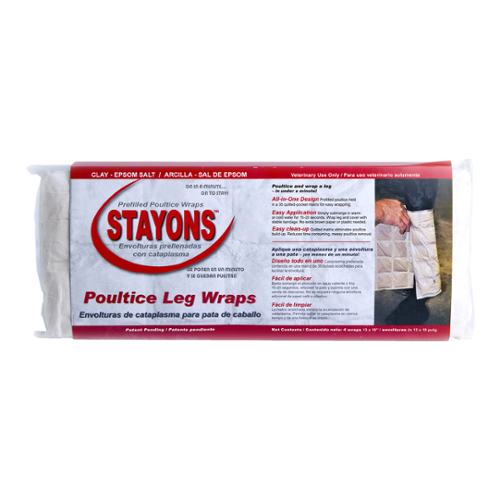 Stayons® Poultice Leg Wraps for Horses