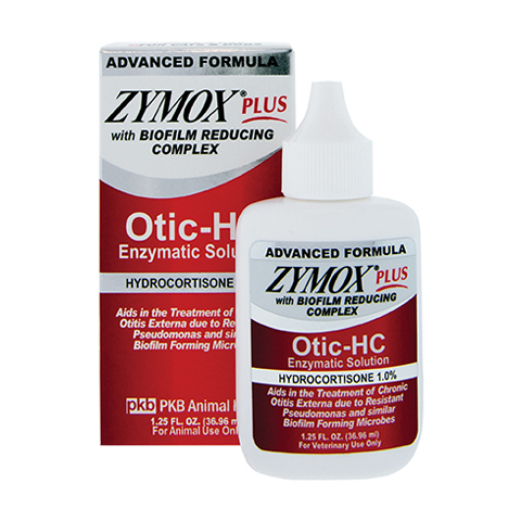 Zymox® Plus Otic Enzymatic Solution with Hydrocortisone