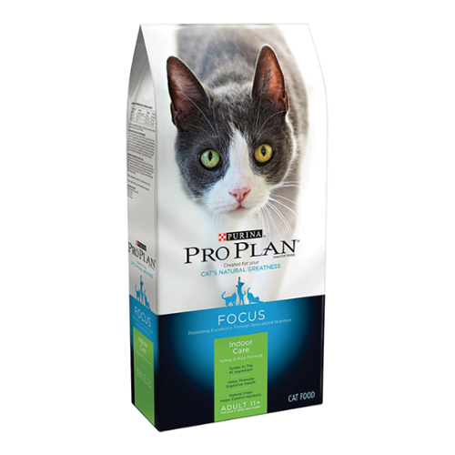 Purina® Pro Plan® Focus Adult Cat 11+ Indoor Care Turkey & Rice Formula Dry