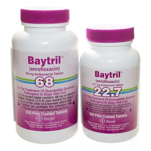 Baytril® Purple Tablet